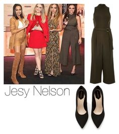 """Jesy Nelson at Gold Magic signing"" by manakda ❤ liked on Polyvore featuring River Island and Zara"