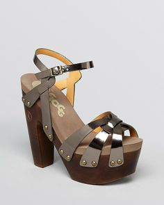 A MUST HAVE FOR THE SUMMER! Flogg Open Toe Platform Sandals - Rainbow2 High Heel on shopstyle.com