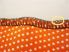 Tips on hemming knits (using either a serger or a sewing machine)