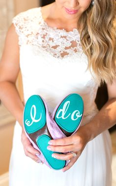 "Say ""I Do"" in Tiek Blue! 