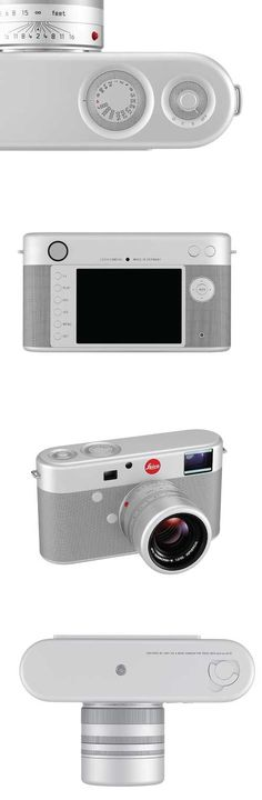 Leica Digital Rangefinder Camera designed by Jony Ive and Marc Newson
