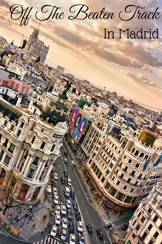 Looking to explore Madrid off the beaten path? Check out these fun things to do in Madrid, all alternative options to the typical tourist picks in the city!