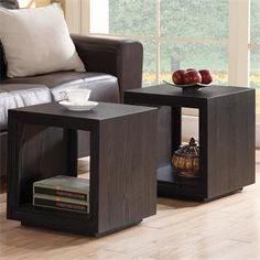 Symmetry Cube Table I Riverside Furniture