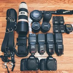 Photography gear with holdfast moneymaker straps. First wedding of the season
