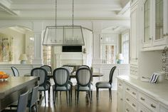 Luxury in White - Traditional - Kitchen - New York - The Hammer & Nail, Inc.