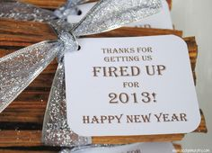 Super cute if you're staying somewhere with a fireplace. Jac o' lyn Murphy: Getting Fired Up for a New Year!