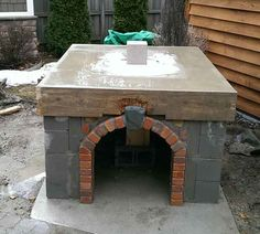 Hollenbeck Wood-Fired Outdoor Brick Pizza Oven by BrickWood Ovens Brick Oven Outdoor, Pizza Oven Outdoor, Outdoor Cooking, Outdoor Bars, Outdoor Kitchens, Diy Pizza Oven, Pizza Ovens, Bricks Pizza, Bread Oven