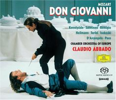 Don Giovanni (1787) // Wolgang A. Mozart // Claudio Abbado (Performer), Simon Keenlyside (Performer), Bryn Terfel (Performer), Carmela Remigio (Performer), Soile Isokoski (Performer), Ildebrando D'Arcangelo (Performer), Uwe Heilmann (Performer), 1998