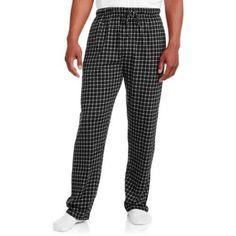 Hanes Big Men's Printed Sleep Pant, Size: 4XL, Black