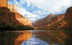 Extraordinary Photography Places River Nature Canyon Beautiful Canyons Sky Clouds Exctraordinary Grand Apple Wallpaper
