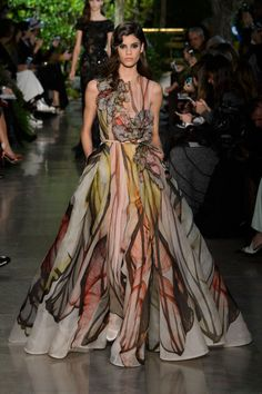 A look from Elie Saab couture spring 2015. Photo: Imaxtree.