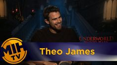 Theo James Interview Underworld: Blood Wars