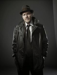 Detective Harvey Bullock (Gotham TV Series), I like him. He was in The Vikings. too.