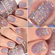 All of these nail designs are actually as simple as they are lovely. If you are constantly on the lookout for options and unique designs, nail art designs are a way to display your character and to be original. Fancy Nails, Cute Nails, Pretty Nails, Prom Nails, Wedding Nails, Vegas Nails, Hair And Nails, My Nails, Star Nails