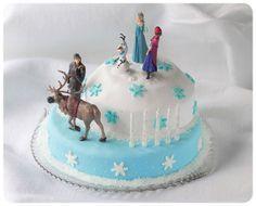 Frozen Birthday Cake Eiskönigin Kuchen Motivtorte