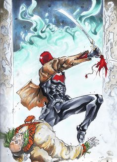 Jason Todd Red Hood   red hood # jason todd # dc comics