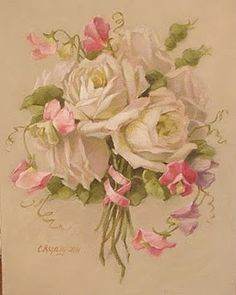 """""""sweet sentiments"""" painting: Christie Repasy"""