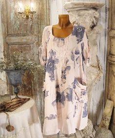 Robe Tunique Lin Grande Taille – Lyly La Comtesse
