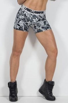 Shorts Labellamafia - Labellamafia FSH11084 Dani Banani Fashion Fitness