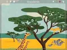 ANIMAL HABITATS iPad App for Kids.  First Habitat FREE to explore...  https://itunes.apple.com/app/animal-habitats-free-explora/id563470717?mt=8