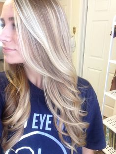 Blonde baylage by Angie