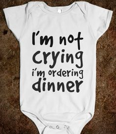 Dinner, Ninna I am so getting you this when you have a child!