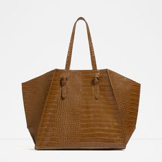 Image 1 of GEOMETRIC TOTE from Zara