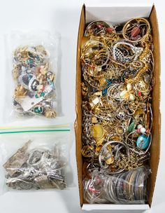 """Lot 571: Sterling Silver and Costume Jewelry Assortment; Approximately eleven pounds of bracelets, rings, earrings, pins and pendants; all silver is marked """"925"""" or """"sterling"""""""