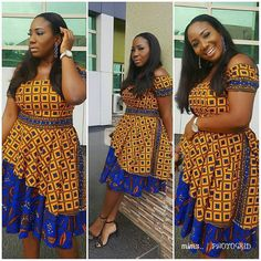 Hey Guys, We want you to take seat and watch these Ankara styles that are too dapper for you to ignore. We can tell you that these Ankara styles are creative, classy and exciting to have. Ankara Short Gown, Ankara Gown Styles, Short Gowns, Ankara Gowns, Ankara Blouse, Ankara Dress, African Fashion Designers, African Print Fashion, Africa Fashion