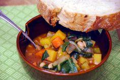 winter minestrone soup recipe cooking light magazine