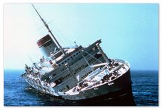 SS Andrea Doria Sank