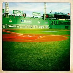 Fenway park - one day I will be there. I want to stand under the Covidien sign.
