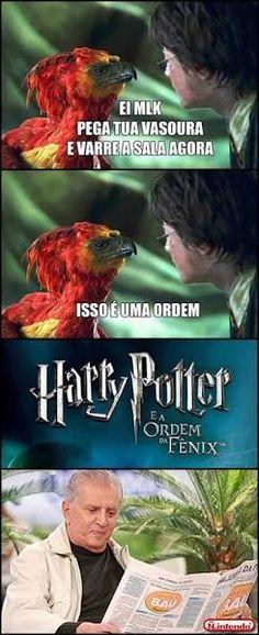 Resultado de imagem para piadas de Harry Potter portugues