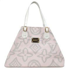 162fd5a8d136 Louis Vuitton Tahitienne Cabas GM - modaselle Authentic Louis Vuitton,  Designer Bags, Designer Handbags