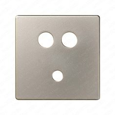 placa para conector minijack rca simon color