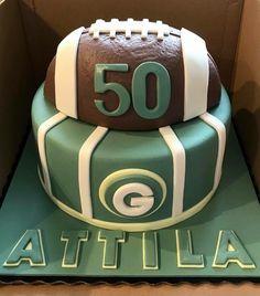American football cake American Football, Cake, Sports, Pie Cake, Hs Sports, Pastel, Football, Cakes, Sport