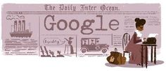 Google honoured Ida B Wells with her own doodle to mark her 153rd birthday on 16th July