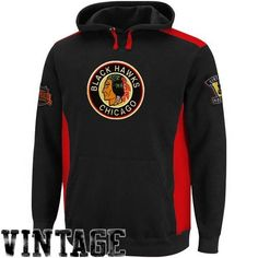 NHL Mens Chicago Blackhawks Hat-Trick Hoodie Black/Athletic Red Long Sleeve Hooded Fleece Pullove By Majestic (Black/Athletic Red, Medium) by Majestic. $59.95. Support Your Nhl Team Proudly, And Keep Warm, With This Hat-Trick Hoodie By Majestic. This Stylish Sweatshirt Is A Must-Have Addition To Your Nhl Team Fashion Repertoire. Features The Teams Vibrant Color Scheme So You Will Be Repping Your  Team Support Loud And Proud.