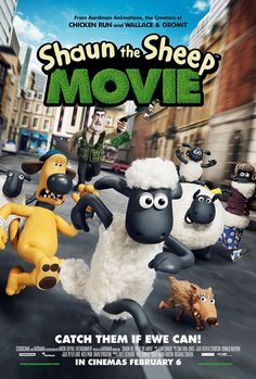 Shaun The Sheep Movie. Nominated for Best Animated Feature Film.
