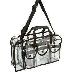 Seya Large Transparent Carry All Makeup Set Bag | Overstock.com $29.01