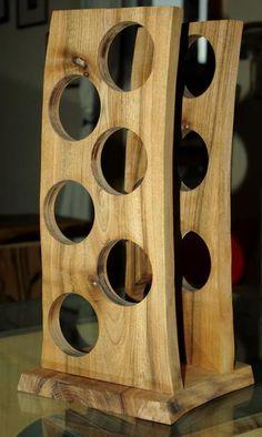 Stojak na wino w Art Wood Kawkowo na DaWanda.com