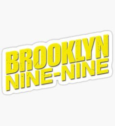 0d5341dd5 10 Best b99 stickers images | Brooklyn nine nine, Laptop stickers ...