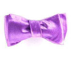 Purple Satin Bow Tie for Men - Purple Bow Tie, Purple Satin, Tie Colors, Bowties, How To Wear, Men, Fashion, Tie Bow, Chignons