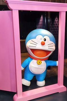 Doraemon Pink Door