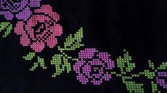 Cross Stitch Borders, Cross Stitch Patterns, Prayer Rug, Bead Loom Patterns, Loom Beading, Needle And Thread, Diy And Crafts, Album, Embroidery