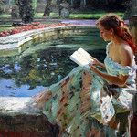 Vladimir Volegov premier art gallery is committed to the philosophy of offering dealer prices to the public on our fine art paintings, and prints. Reading Art, Woman Reading, Albrecht Durer, Vladimir Volegov, Creation Photo, Psy Art, Fine Art, Beautiful Paintings, Oeuvre D'art