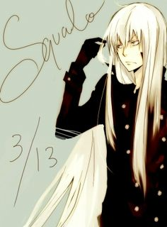 Anime Men With Long Hair