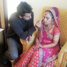 Bridal Makeup by shival ghai.  #BridalMakeup #Bride #MakeUp
