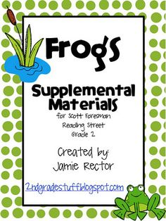 2nd grade reading: frog unit
