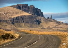 The roadway to The Storr, Isle of Skye.